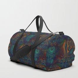 Trancelike State Psychedelic Duffle Bag