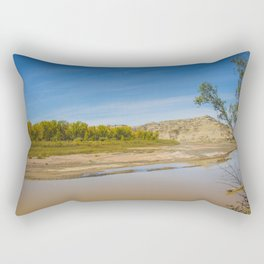Theodore Roosevelt National Park North Unit, North Dakota 2 Rectangular Pillow
