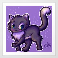 Cute Kitty Art Print