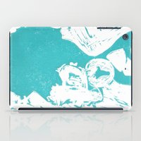 afro iPad Cases featuring Afro Blue by J. Lynn Art