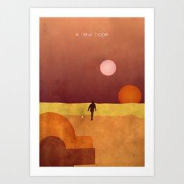 A New Hope Art Print
