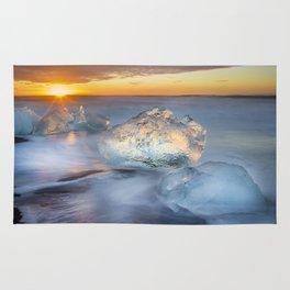 Diamonds in the Sun Iceland Rug