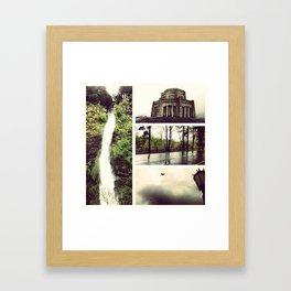 Dark Time Framed Art Print