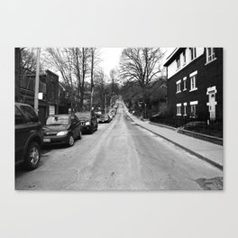 Off Queen - Willow Avenue - North Canvas Print
