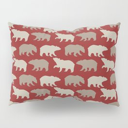 Beautiful Bear Pattern Pillow Sham
