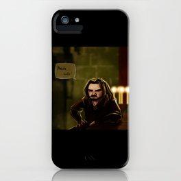 Concept Art Merde Voilà iPhone Case