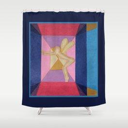 Fairy Under Glass Shower Curtain