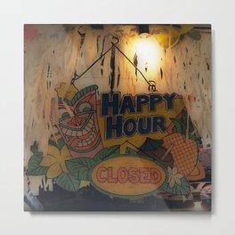 Closing Time Metal Print