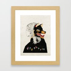 Dysphoria Framed Art Print