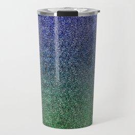 Nightfall Forest Glitter Gradient Travel Mug