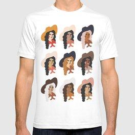 Multi Culture Cowgirl T-shirt