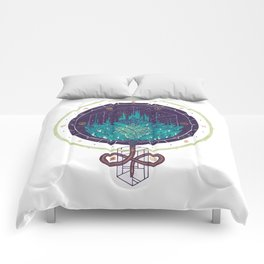 Fading Dahlia Comforters