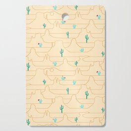 The Call of the Desert Cutting Board