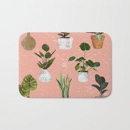 Plants Collection Bath Mat