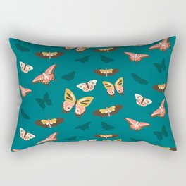 Butterfly Swarm Rectangular Pillow