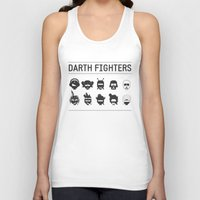 foo fighters Tank Tops featuring Darth Fighters by Nillustra™