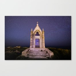 Arrived in heaven Canvas Print