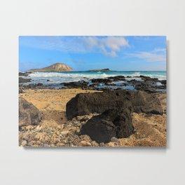 Makapu'u Reef Metal Print