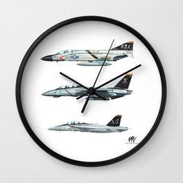 JOLLY ROGERS Trio Wall Clock