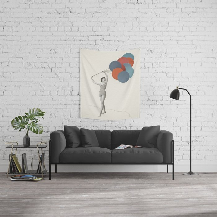 Balloons Wall Tapestry