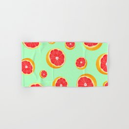Mint Grapefruit Hand & Bath Towel