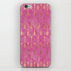 Gold Arrows iPhone & iPod Skin