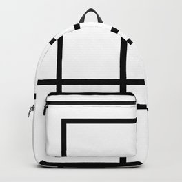 Abstract geometric pattern 33 Backpack