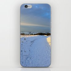 Lancashire Snow Scene iPhone & iPod Skin