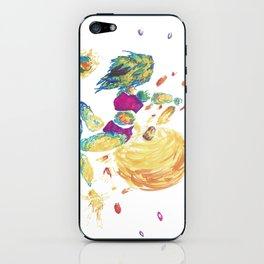 Space destroyer iPhone Skin