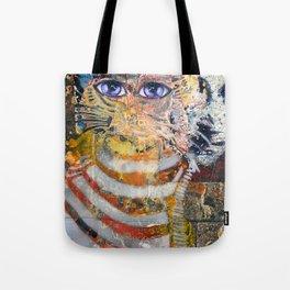 Enchanted Feline and Mona Tote Bag