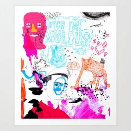 Acid Art Print