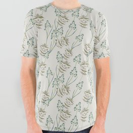 Dakota Prairies: Sage & Sweetgrass All Over Graphic Tee