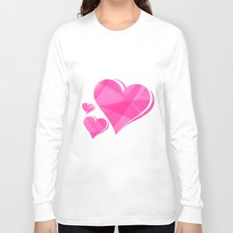 Love Hearts Long Sleeve T-shirt