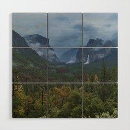 Yosemite Tunnel View Wood Wall Art