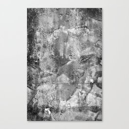 Abstract Concrete Grunge Canvas Print