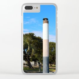 Miniature Lighthouse Clear iPhone Case