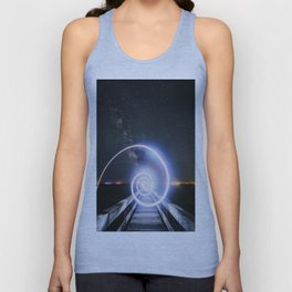 Step into my world Unisex Tank Top