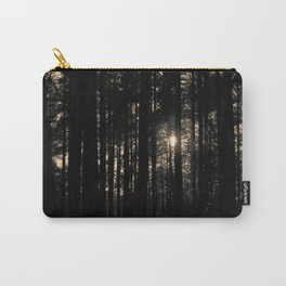 Sun between trees Carry-All Pouch