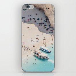 to the beach iPhone Skin