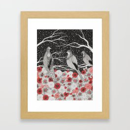 Three Birds Framed Art Print