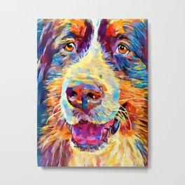 Bernese Mountain Dog 4 Metal Print