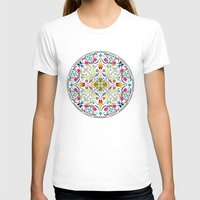 circle T-shirts featuring Circle by Liz Slome