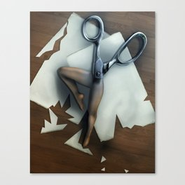 Shears Canvas Print