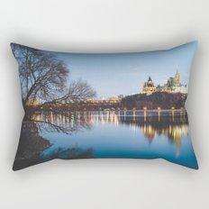 Ottawa at Night Rectangular Pillow