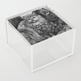 The Empress - Cat Tarot card Acrylic Box