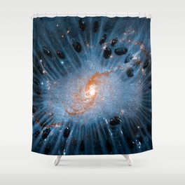Cosmic Seeds of Life Shower Curtain