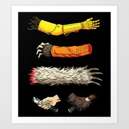 Casualties of Wars Art Print