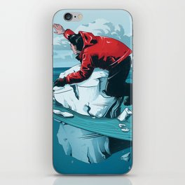 Staying Afloat iPhone Skin