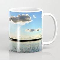 cabin Mugs featuring Cabin Skys by Derrick Koch