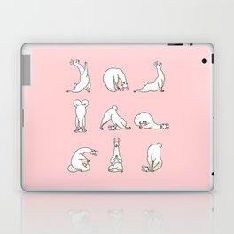 Yoga LLama in Pink Laptop & iPad Skin